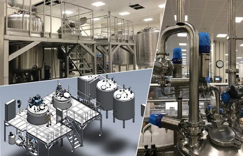 Nouvelle ligne de production de gels, shampooings et crèmes