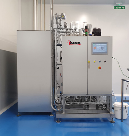 Atelier pour la production de colorations capillaires et de crèmes
