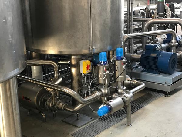 Production de boissons végétales