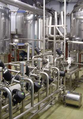 Production of pharmaceutical syrups