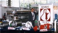 Candi Granés a créé INOXPA à partir de l'entreprise Bombas Félez, qui se consacre à la fabrication de pompes à eau.
